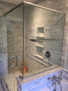 Angled Shower Enclosure